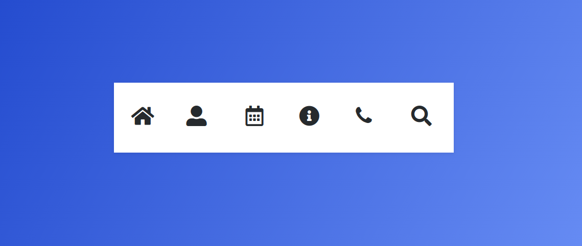 location icons bootstrap